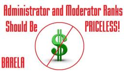 Administrator and Moderator Ranks Should Be PRICELESS! Minecraft