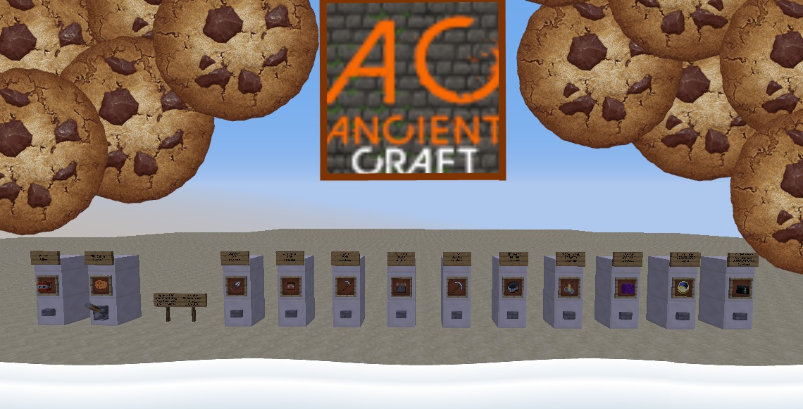 Cookie Clicker - AncientCraft Minecraft Project