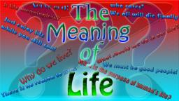 The meaning of life - 42nd level special! Minecraft Blog