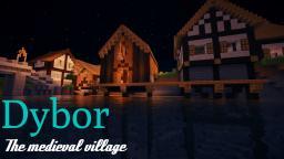 Dybor-Medieval village Minecraft Map & Project