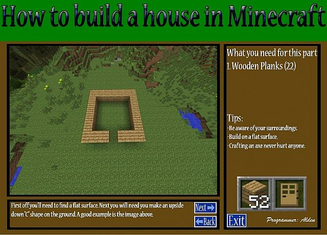 How to build a minecraft house program minecraft blog for Build your house program
