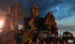 A Gothic house Minecraft Project