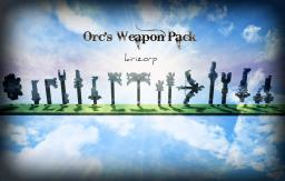Orcish Medieval Weapons Pack Minecraft