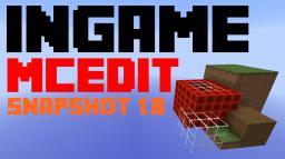 Custombrush, Multiclone and Scheamtics -> MCedit ingame [Snapshot 1.8] Minecraft Project