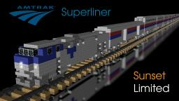 Amtrak Superliner (Sunset Limited) Minecraft