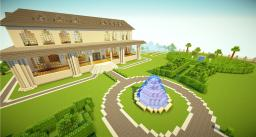 English Mansion, Large Home, Modern House Minecraft Map & Project