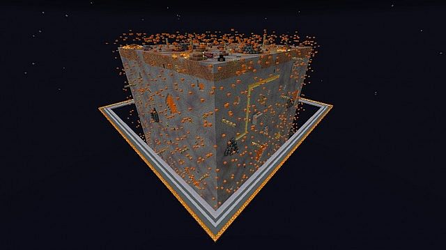 Sky Cubes Solar System Minecraft Project