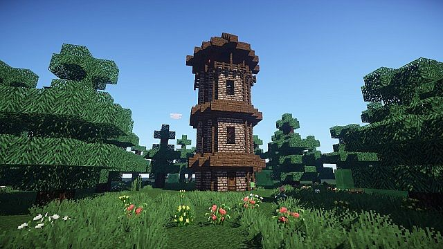 My Medieval Watchtower Minecraft Project
