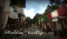 Hidden Valley Survival RPG [Quests, Custom Items, Custom Landscapes] Minecraft