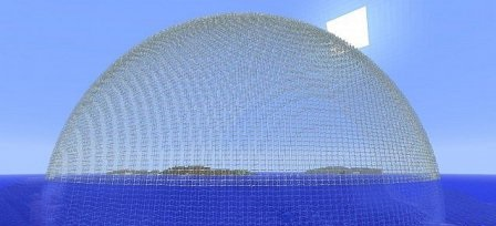 Water Dome Minecraft Project