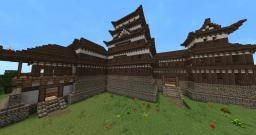 Japanese Castle (Matsumoto Castle inspired) Minecraft Map & Project