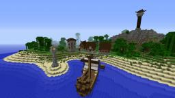 Norcish (Nordic/Orcish) Island Town Contest Entry Minecraft Map & Project