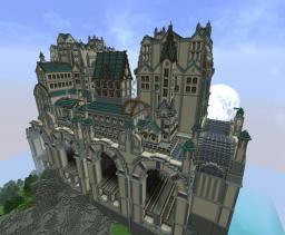 Huge Steampunk Travelstation - [build was on BebopVox - monday show!] Minecraft