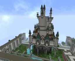 Maginific Wolf Castle ~ Ended Project Minecraft