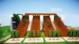 Metric |TCS| a modern home | 150 subscribers thankyou Minecraft Map & Project