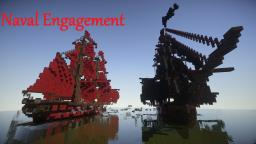 Naval Engagement Minecraft Map & Project