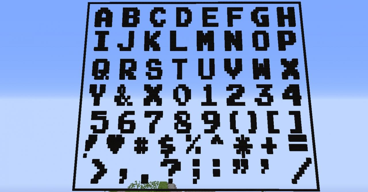 Letters And Numbers A Z 0 9