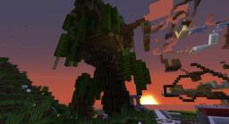 Fantasy Elfish Tree House Minecraft Map & Project