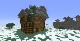 a small mansion (updated to 1.7.4) Minecraft Map & Project