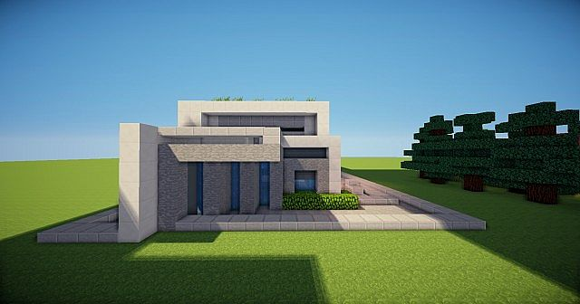 Modern House With Muscle Car