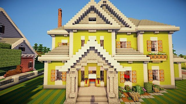 Traditional Mansion Minecraft Project - photo#22