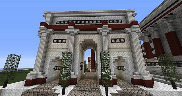 Triumphal Arch - First of two for the Forum