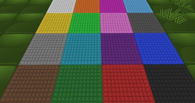 All the colors of wool.
