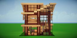 Modern Eco Village | Home 10 Minecraft Map & Project
