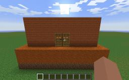 red house on red sand (with chests full of stuff) Minecraft Map & Project