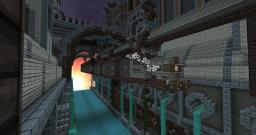 Funky Steampunk Monorail Trainsystem Minecraft Project