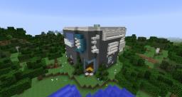 Modern Home I - Golem Manor Minecraft Map & Project