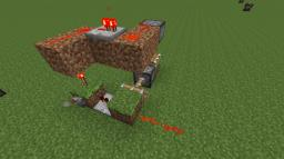 Two-Piston Redstone Clock (Scaleable) Minecraft Map & Project