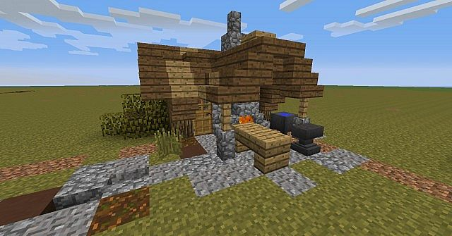 Small Smithy Minecraft Project