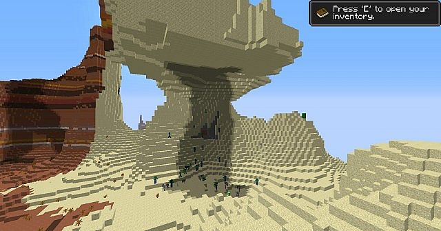 1 7 4 Awesome Amplified seed Minecraft Project