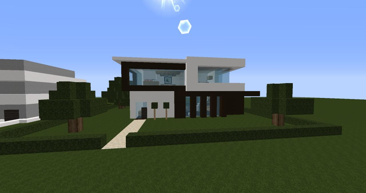 Minecraft- Modern House #3 (Small and Cute) Minecraft Project