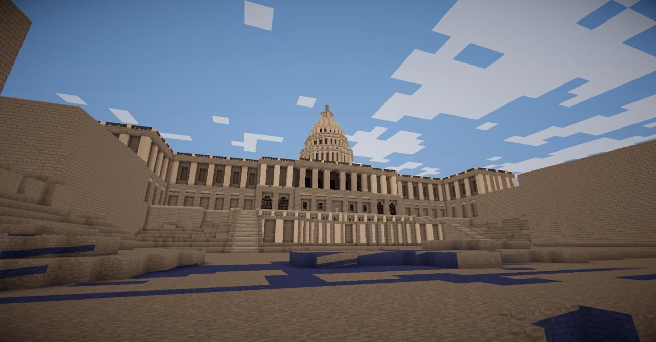 Fallout  Map Remake Minecraft Project - Washington dc map download