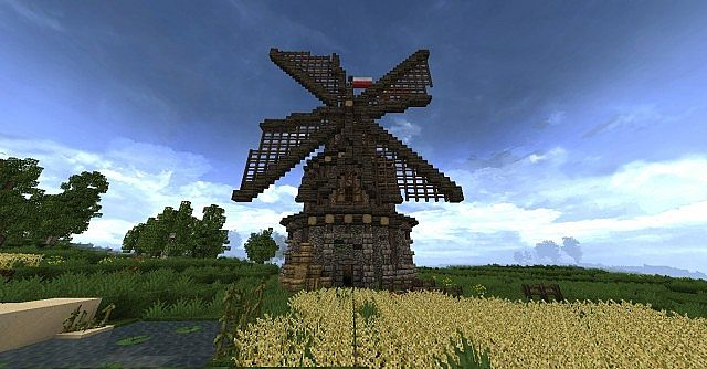 Medieval Windmill | legoket Minecraft Project
