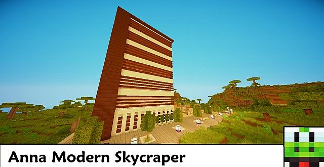 Anna Skycraper Minecraft Project