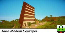 Anna Skycraper Minecraft Map & Project