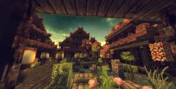 Asian Garden Minecraft