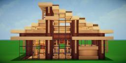 Modern Eco Village | Home 13 Minecraft Map & Project