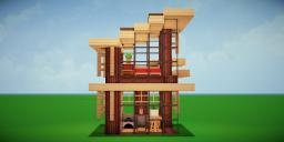 Modern Eco Village | Home 14 Minecraft Map & Project