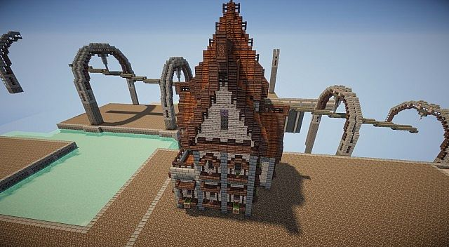 how to build a steampunk house in minecraft