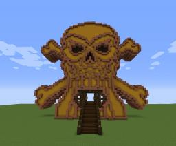Skull N Bones Gate Minecraft Map & Project
