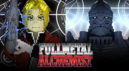 Edward Elric & Alphonse Elric - Fullmetal Alchemist Minecraft Project