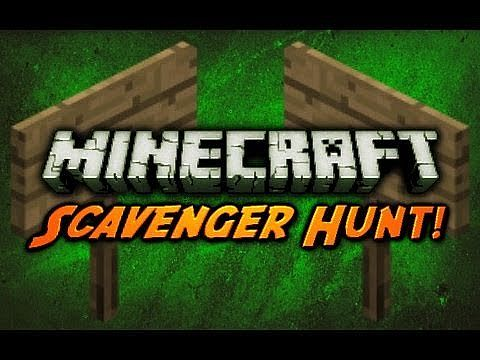 Scavenger Hunt Minecraft Project