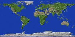 Terra Firma- Terraform of Planet Earth (Over 14 Billion Blocks) Minecraft Map & Project