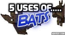 5 Uses of Bats Minecraft Blog Post