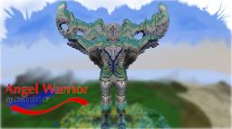 Angel Assassin/Warrior Statue Organics Minecraft Project
