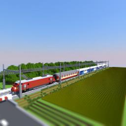 Train Pack v0.45 Minecraft Project